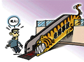 多角度防御电梯