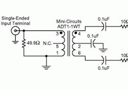 副边变压器端接提升高速ADC的增益平坦度