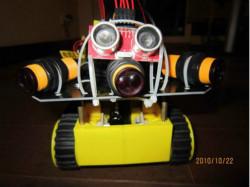 基于超声波传感器的自主移动机器人的探测系统