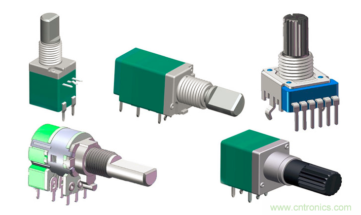 电位器的作用和常规电位器分类