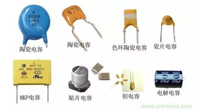 电容种类及滤波电容作用