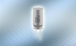 铝电解电容器:大电流能力的紧凑型单端引线式电大发云彩神app官方网站登录容器系列