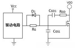 应用于线性区功率MOSFET:di/dt和dv/dt分开控制方法