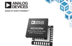 ADI AD242x汽車音頻總線收發器,適合新興多麥克風應用