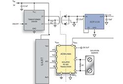 在隔离RS-485节点中分割隔离电源的选择和解决方案