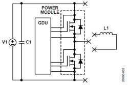 如何用隔离式栅极驱动器和LT3999 DC/DC转换器驱动1200 V SiC电源模块?