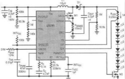 具内部PWM调光信号发生器的LED调光设计
