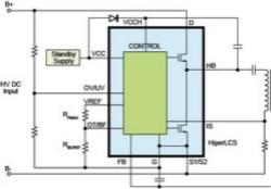 高频LLC转换器提升电源效率减少PCB面积