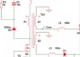 这个电路用同步整流代替二极管后,出现意想不到的效果