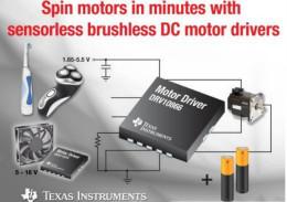 無需固件的三相位無刷 DC電機驅動器