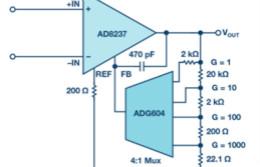 可编程增益仪表放大器:寻找合适的器件