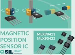 Melexis推出新款磁位置傳感器芯片