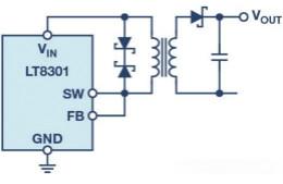 無需光耦合器的反激式轉換器:現有選項