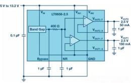 可驅動電流的高精度基準電壓源,它是這樣的……