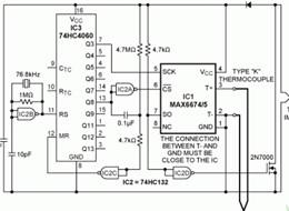 在传感器近端量化热电偶输出