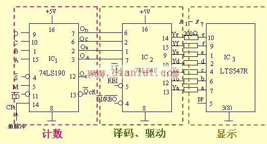 数码管驱动电路及数码管驱动电路图