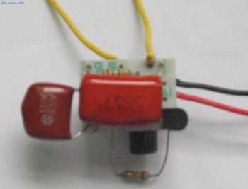 电容降压的工作原理