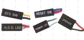 主机电源线颜色怎么分辨/区分