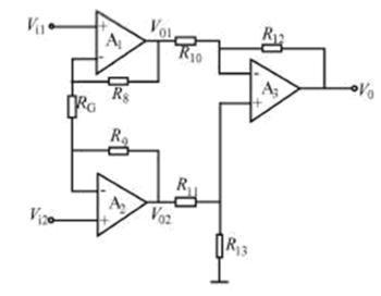 差动放大器,差动放大器电路图及工作原理