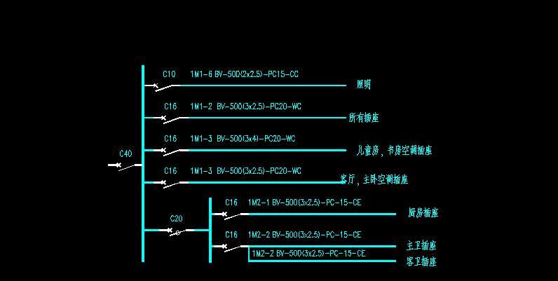 配电箱系统图-基础知识-电子元件技术网电子百科