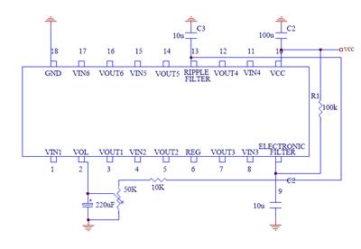 音量控制电路-电路/测试-电子元件技术网电子百科