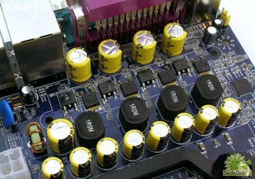 色点电容器的识别