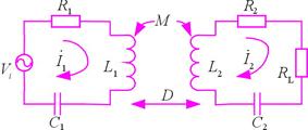 耦合电路及耦合电路图