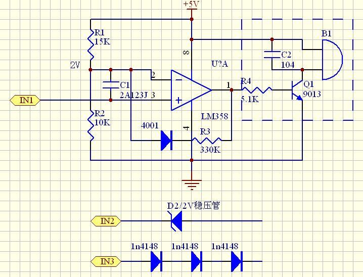 """目前,电压比较器电路在当代的应用可谓是越来越广泛,电压比较器电路是值得我们好好学习的,现在我们就深入了解电压比较器电路。 简单地说,电压比较器是对两个模拟电压比较其大小(也有两个数字电压比较的,这里不介绍),并判断出其中哪一个电压高,如图1所示。图1(a)是比较器,它有两个输入端:同相输入端(""""+""""  端)及反相输入端(""""-""""端),有一个输出端Vout(输出电平信号)。另外有电源V+及地(这是个单电源比较器),同相端输入电压VA,反相端输入VB。VA和VB的"""