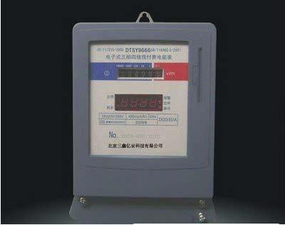 智能电表互感器接线图
