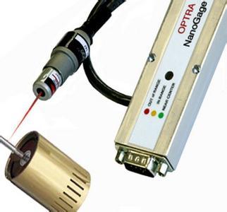 激光位移传感器的原理