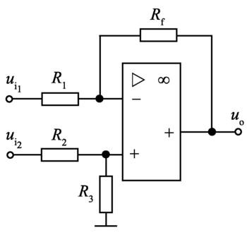 加减运算电路-基础知识-电子元件技术网电子百科