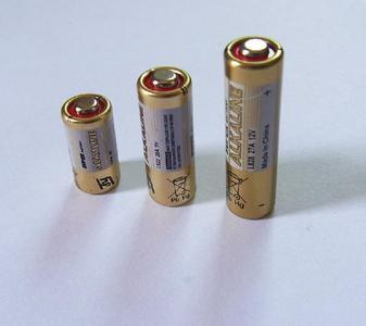 电池的型号