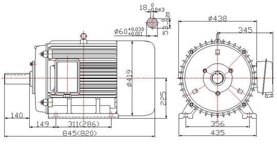 双定子爪极型双励磁永磁无刷电动机
