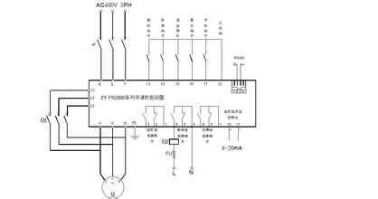 电机软启动控制功能