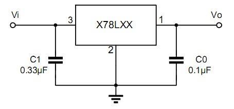 三端集成稳压电路