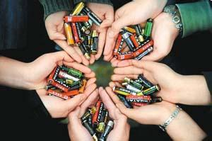 废电池处理方法