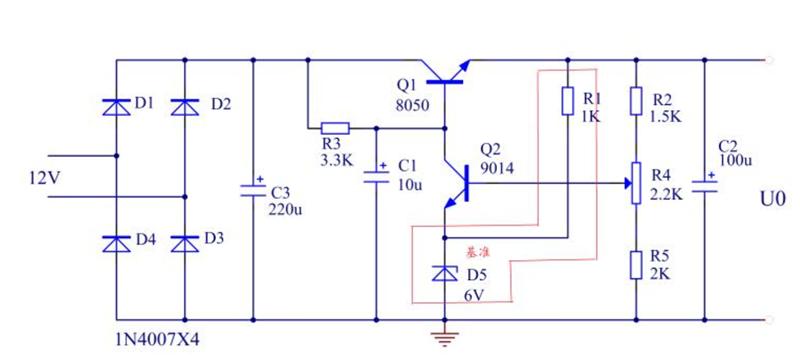 串联型稳压电路属直流稳压电源