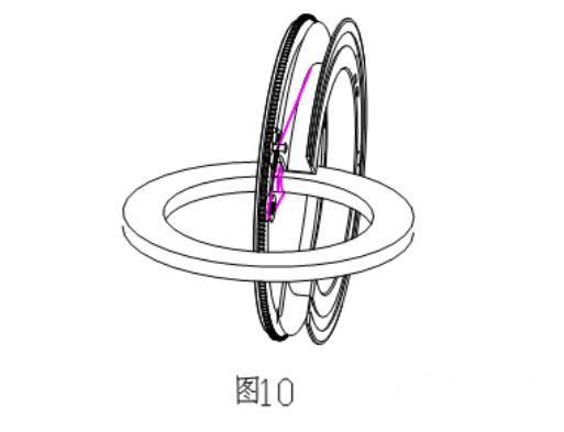 环形变压器原理图及绕线机原理