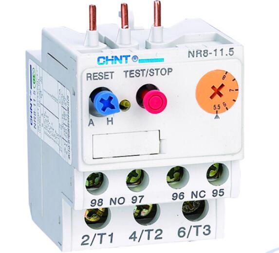 热过载继电器接线图与复位方法