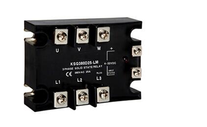 固态继电器符号是什么?三相交流固态继电器接线图