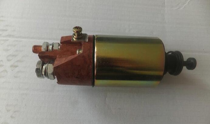 电磁开关电气原理图及部件组成形式