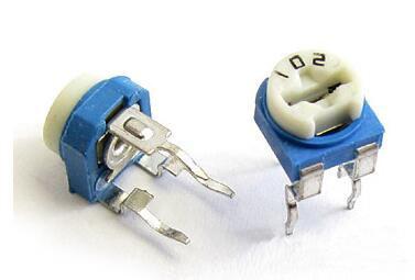 蓝白可调电阻的作用和参数分析