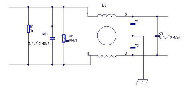 詳述X安規電容和Y安規電容的應用