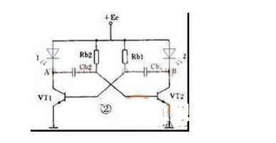 网友分享:外围器件少的led灯闪烁电路设计
