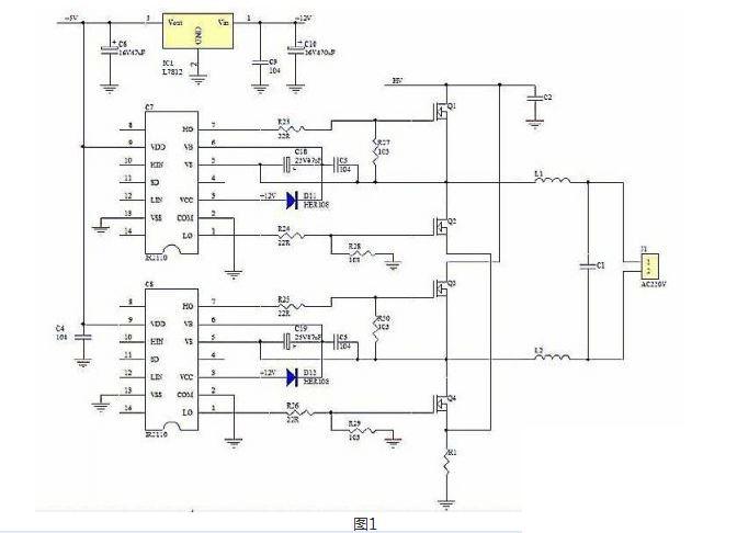 技术详解:高频逆变电源中后级电路设计