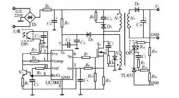 占空比过大如何解决?巧改UC3842保护电路即可