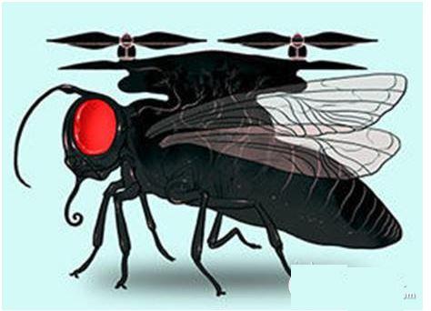 昆虫引起的创新型无人机,亮瞎你的眼!