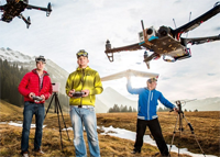 是什么成就了无人机的飞行感知技术?