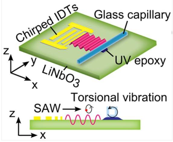 最新技术:为疾病检测铺路的声流体芯片