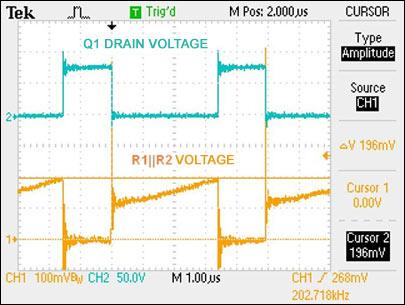 112W长串LED boost驱动器的全陶瓷电容方案